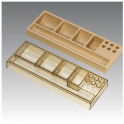 1703-PEN-TRAY-505-OPAQUE-OR-TRANSPARENT