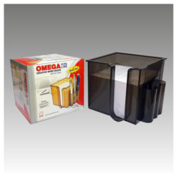 1708---EXECUTIVE-MEMO-HOLDER---With-Pen-Stand-&-Memo-Block-9x9x6